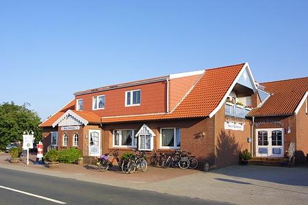 Nordseeurlaub in ostbense ostfriesland hotel pension for Hotel direkt an der nordsee